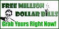 """Get a """"real"""" one million dollar bill (promotional) and impress your friends!"""